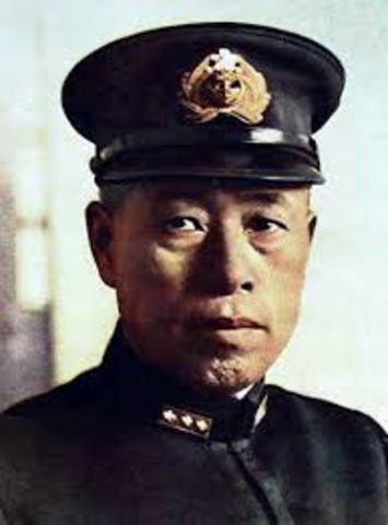 Japanese approved secret attack