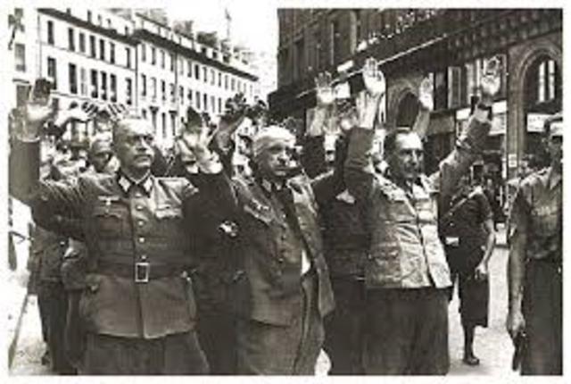 Rendición del ejército Alemán