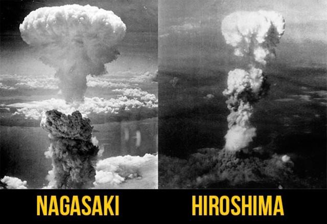 Bombas atómicas: Hiroshima y Nagasaki