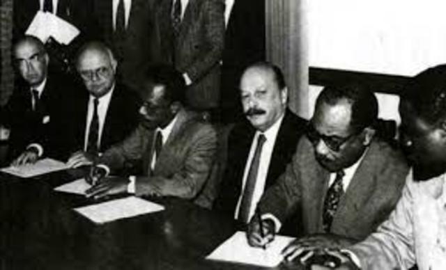 Misión de Apoyo - Suriname 1992 - 2000