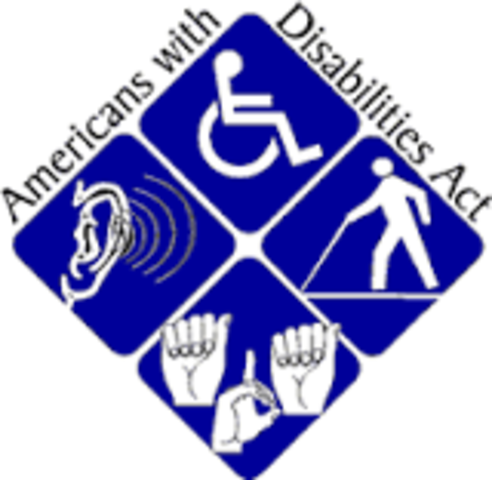 The American with Disabilities Act (ADA) is enacted