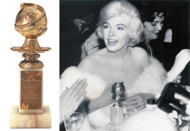 Награда за роль в фильме «В джазе только девушки» Мэрилин получила «Золотой глобус» в номинации «Лучшая женская роль в музыкальной комедии 1959 года».