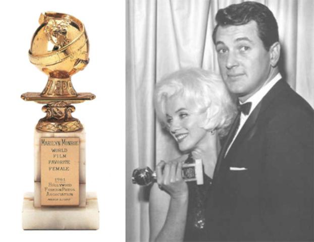Номинация «Любимая актриса в мировом кино в 1961 году» снова получила «Золотой глобус».