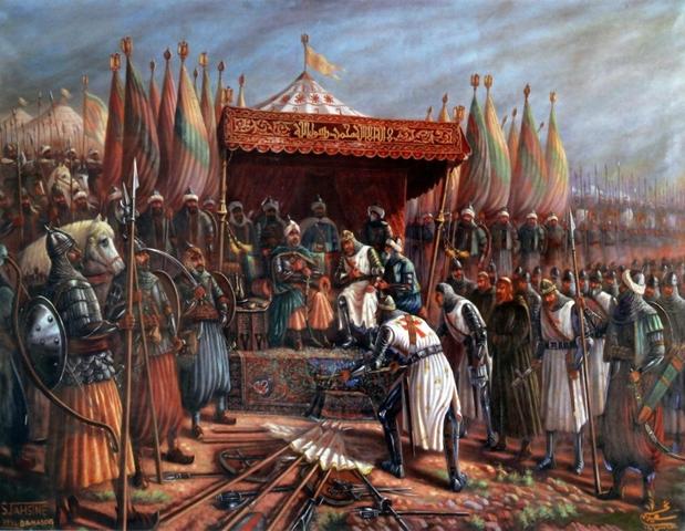 Muslims take back Jerusalem