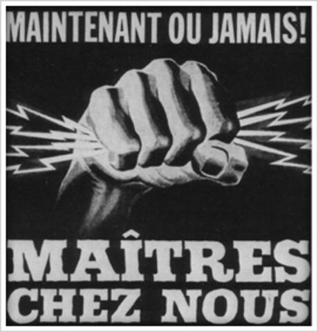 1962 Maitre Chez Nous (Jean Lesage, Liberal Party Campaign slogan)