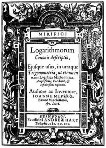 Invención de los logaritmos y maquinas para multiplicar.