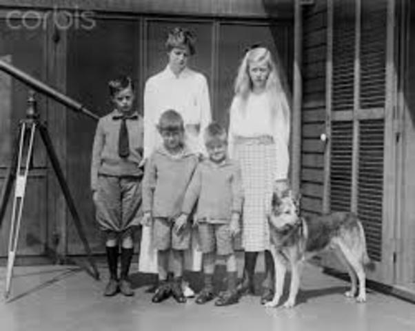 Who were Frankin D. Roosevelt kids ?