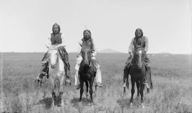 The Comanche Indians