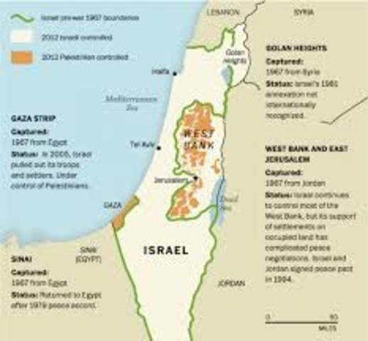 Israel gains further control