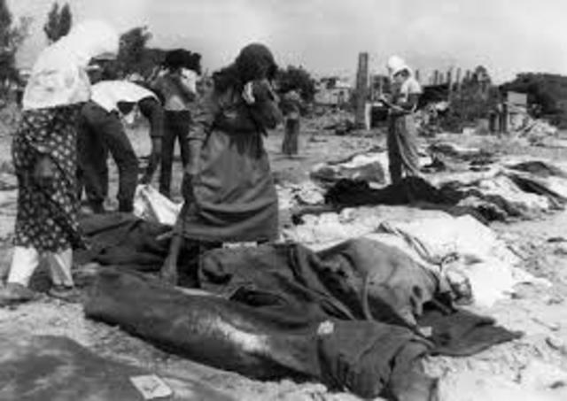 Killing of 2000 unarmed Palestinians