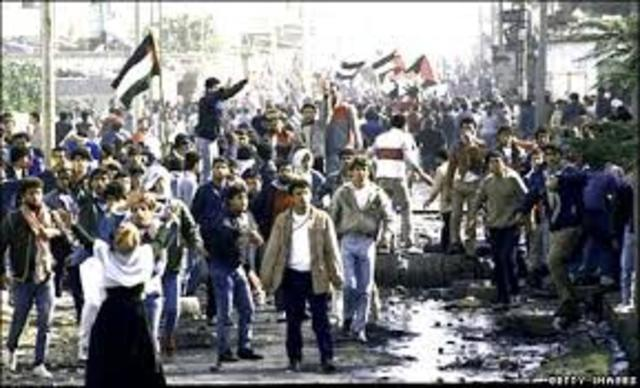 Palestinian Intifada in the West Bank and Gaza