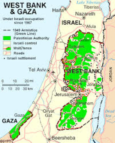 West Bank town to Palestinian rule