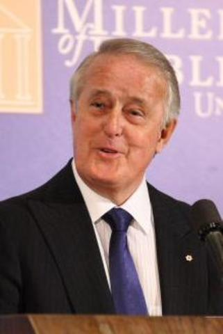 Brian Mulroney becomes Prime Minister