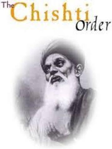 Arrival of Chishti Order