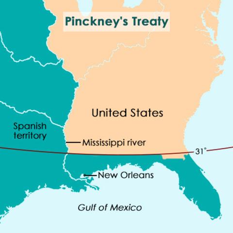 Treaty of Madrid or Pinckney's Treaty