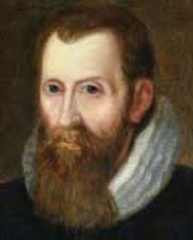 el escocés John Napier inventa el logaritmo neperiano
