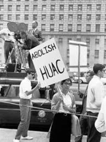 House Un-American Activities Committee (HUAC)