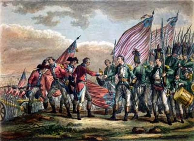 Revolutionary War Ends