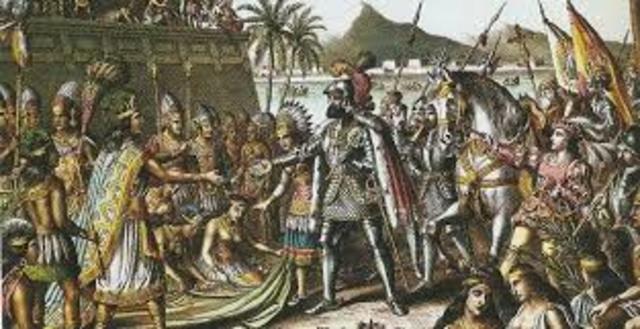 Conquista de Tenochititlán