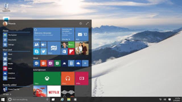 Windows 10.