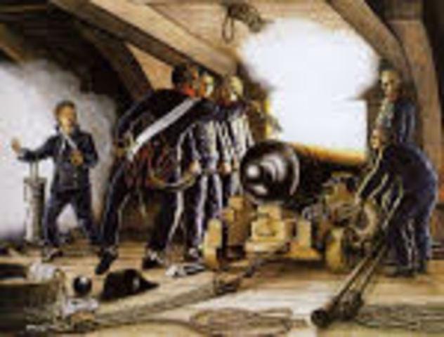 Inventos: polvora de cañón