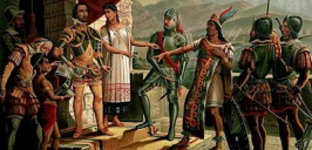 Hernán Cortés conquista México