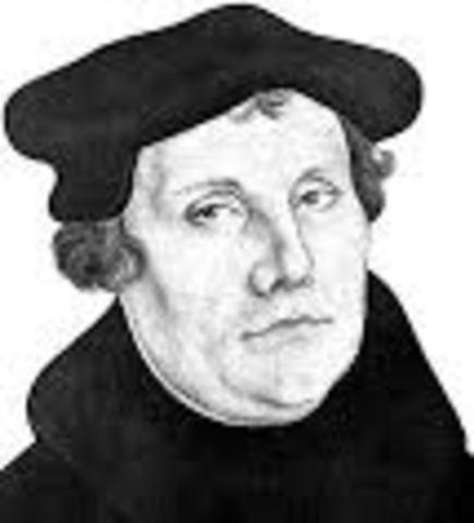 Revolución Religiosa: Lutero y Zwinglio promotores de la Reforma