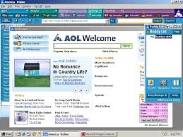 AOL membership peaks