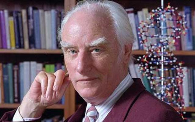 Muerte de Francis Crick