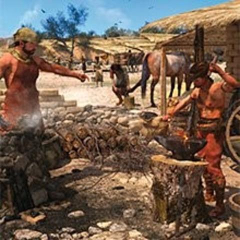 Edad de hierro (1200 a.c-200 a.c)
