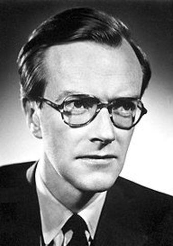 Nacimiento de Maurice Wilkins.