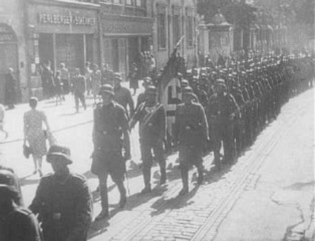 German Blitzkrieg 1940