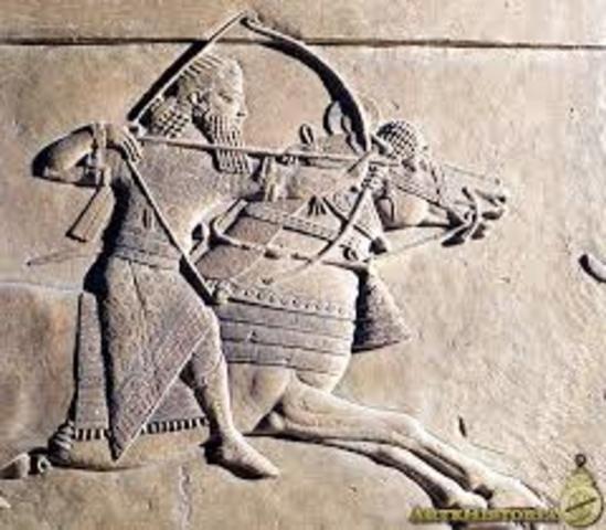 900-800 Esplendor del Imperio asirio: Asurbanipal II y Salmanasar III.- Reinos de Israel y Judá: época de Elías y los profetas hebreos.