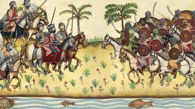 737-738 D.C Derrota sucesivas de los musulmanes a manos de Carlos Martel.- Los francos dominan la Austrasia y la Neustria.