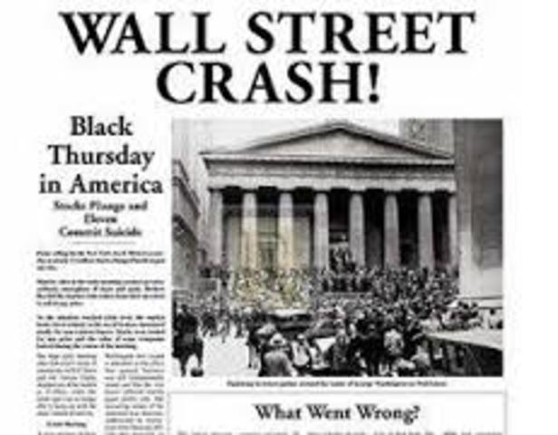 Queda da Bolsa de Valores em Nova Iorque