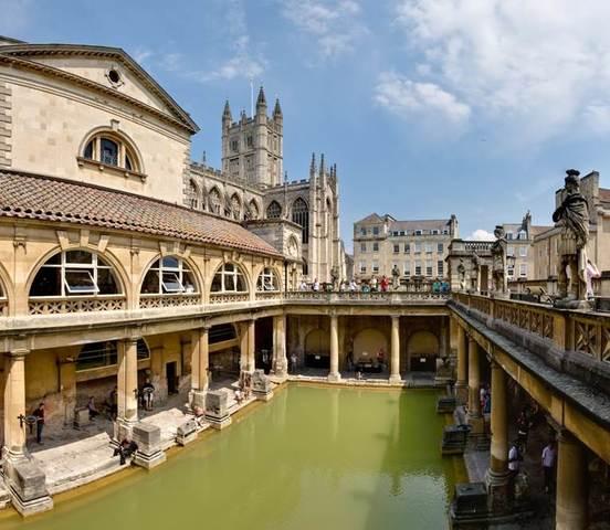 Bath - centros termais em evidência