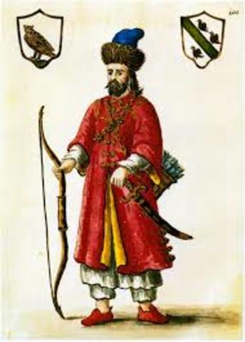 1275 Marco Polo es recibido en la corte de Kublai Kan, emperador mongol.