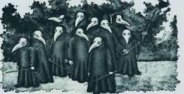 1348 Empiezan los estragos de la peste negra en los países mediterráneos.