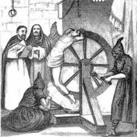 1481 Establecimiento de la Inquisición en Castilla.- Los Reyes Católicos inician las hostilidades contra Granada, último reducto de los moros en España.- Muere Axayácatl, tlatoani mexica; le sucede Tizoc.