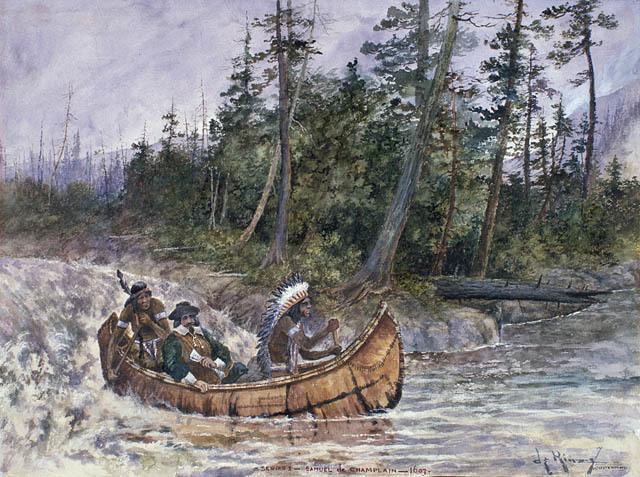 Passage de Samuel de Champlain