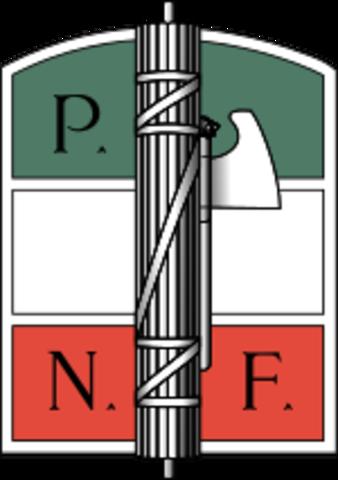 ITÀLIA - Fundació del Partit Nacional Feixista