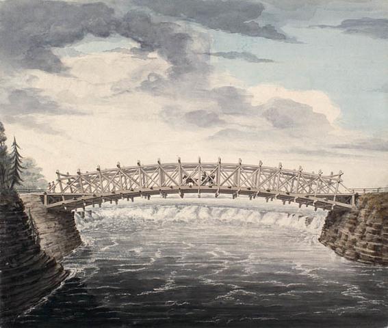 Inauguration de l'Union bridge