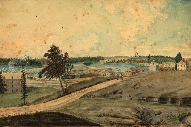 Établissement des 1ers colons a Long Point