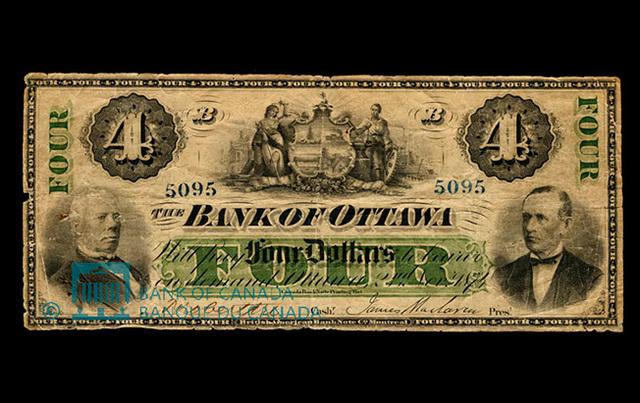 Création de la Banque d'Ottawa