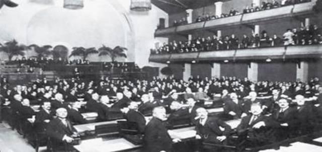 Alemanya abandona la Societat de Nacions
