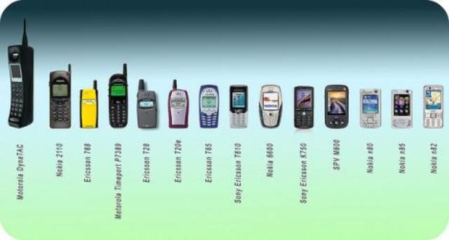 primera evolucion de la tecnologia celular
