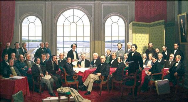 Création du Dominion of Canada