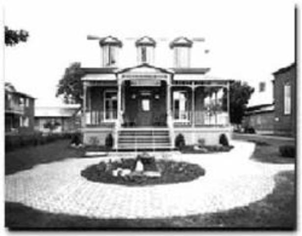 Construction du Centre d'interprétation du patrimoine de Plaisance