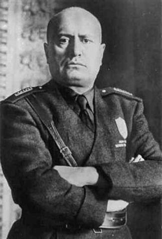 I: Mussolini com a Primer Ministre