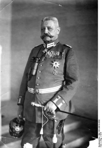 A: Hidenburg president de la República